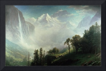 Majesty of the Mountains, by Albert Bierstadt