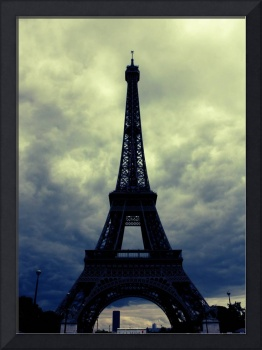 Stormy Day in Paris