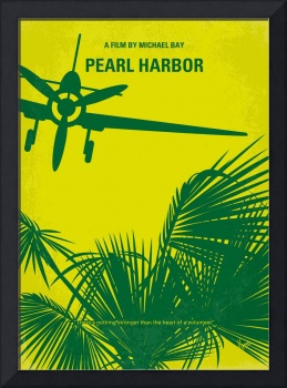 No335 My PEARL HARBOR minimal movie poster
