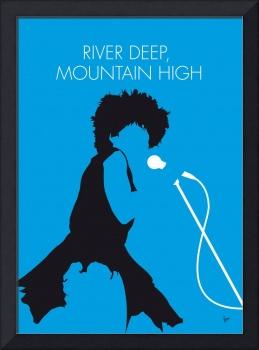 No019 MY tina turner Minimal Music poster