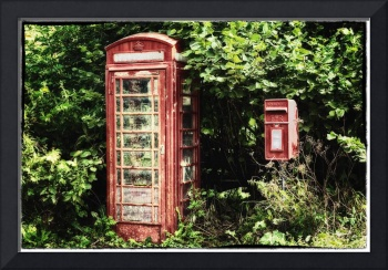 Old Red Telephone Box Old Red Letter Box