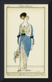 Fashion Poster 1900-1920s Series - 7