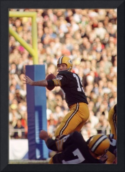 Bart Starr throwing