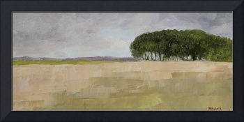 English Landscape with Trees