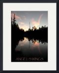 Angel's Wings poster by Jacque Alameddine