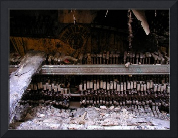 Decayed piano