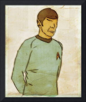 SPOCK - Colorful Metaphors - Original Art