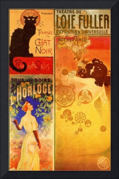 FRENCH THEATER POSTER