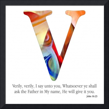 V, the Christian Alphabet