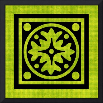Chartreuse Tile No.1