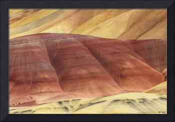 Painted Hills Abstract
