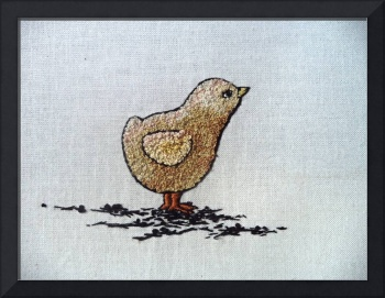 chick embroidery