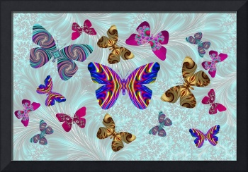 Fractal Butterfly Paradise
