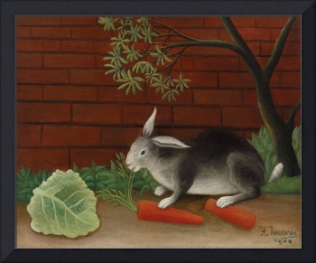 The Rabbit's Meal by Henri Rousseau