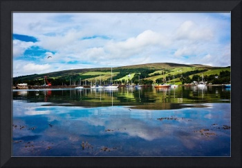 Reflections of Port Bannatyne