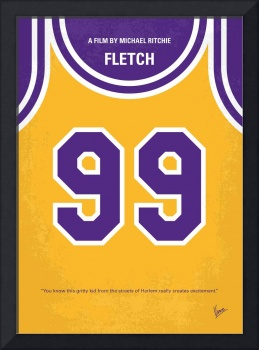 No533 My Fletch minimal movie poster
