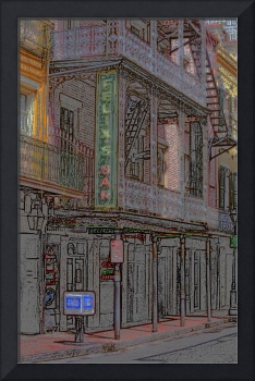 New Orleans - Bourbon Street with