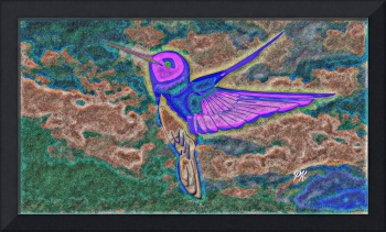 Abstract Bird Art 6