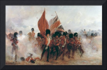 The Colours: advance of the Scots Guards at the Al