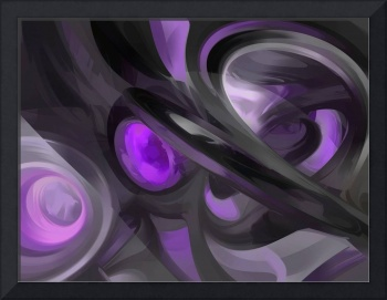Violaceous Pastel Abstract