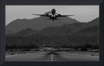 Alaska Airlines Palm Springs Takeoff
