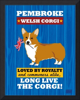 Pembroke Welsh Corgi Royal/Red