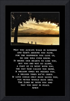 May You Always Walk In Sunshine Prayer