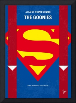 No456 My The Goonies minimal movie poster