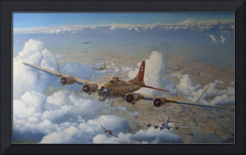 The Nine-O-Nine - B-17 Flying Fortress art