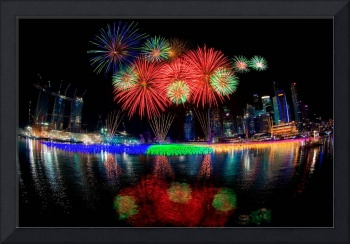 Singapore New Year Fireworks