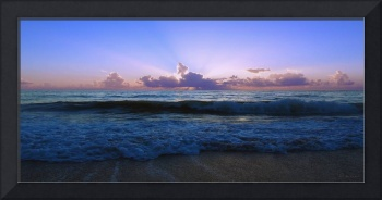 Treasure Coast Florida Tropical Sunrise SeascapeB2