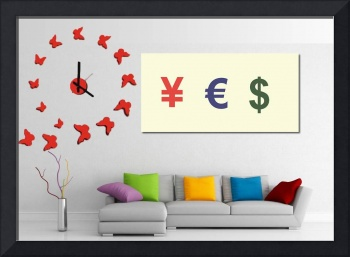Yes Money Minimalist Movie Poster decor