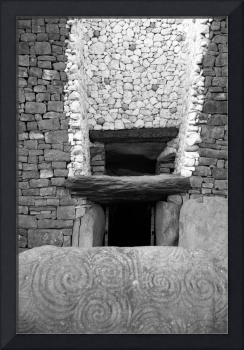Newgrange Burial Entrance