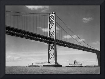 West Tower San Francisco Bay Bridge 1935