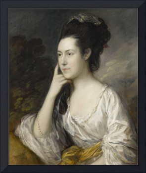 Thomas Gainsborough~Sarah Rowlls Chad