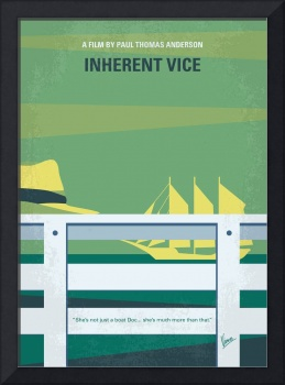 No793 My Inherent Vice minimal movie poster