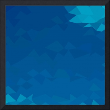 Blue Abstract Low Polygon Background