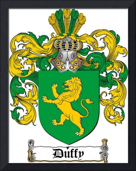DUFFY FAMILY CREST - COAT OF ARMS