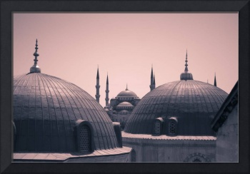 Blue Mosque from Aya Sofia