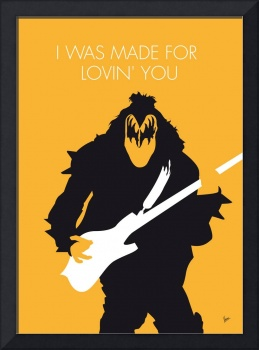 No024 MY KISS Minimal Music poster
