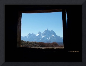 Tetons from Cunningham's cabin