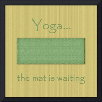 The Mat Is Waiting In Green