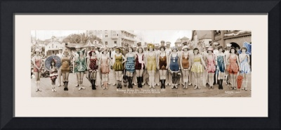 Flapper Swimsuit Contest Redondo Beach California