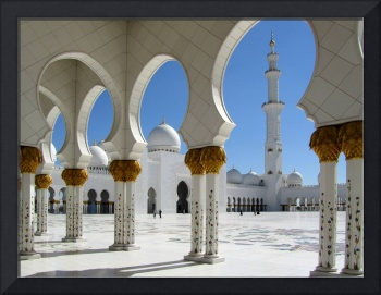 Sheikh Zayed Grand Mosque Porticos 1
