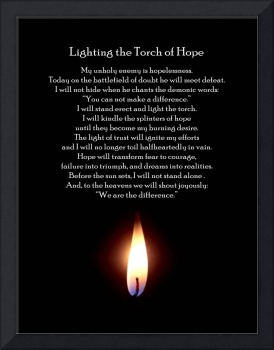 Lighting the Torch of Hope