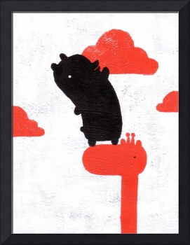 Bear and Clouds