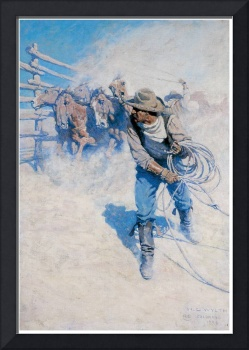 N. C. Wyeth's Shot into Volumes of Dust