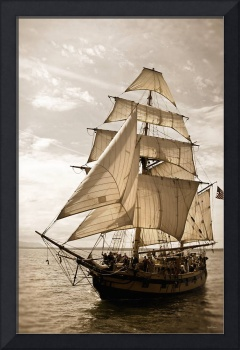 Tall Ship Hawaiian Chieftain Fore