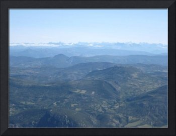 Mont Blanc from Mont Ventoux