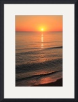 Sunrise on Smooth Ocean  IMG_2621 by Jacque Alameddine